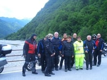 some pictures of the motor bike tours in Alto Adige and Dolomites by Almhof Call