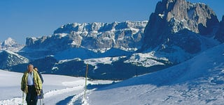 Winter walks and excursions in the Dolomites