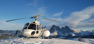 Panoramic flights in the Dolomites
