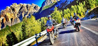18. Dolomites Tour Ride: escursioni guidate in moto 2018